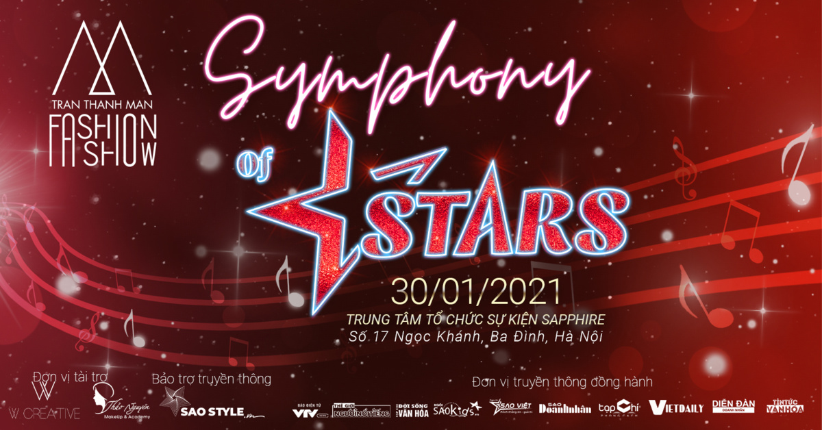 TRANTHANHMAN Fashion Show Symphony Of Stars